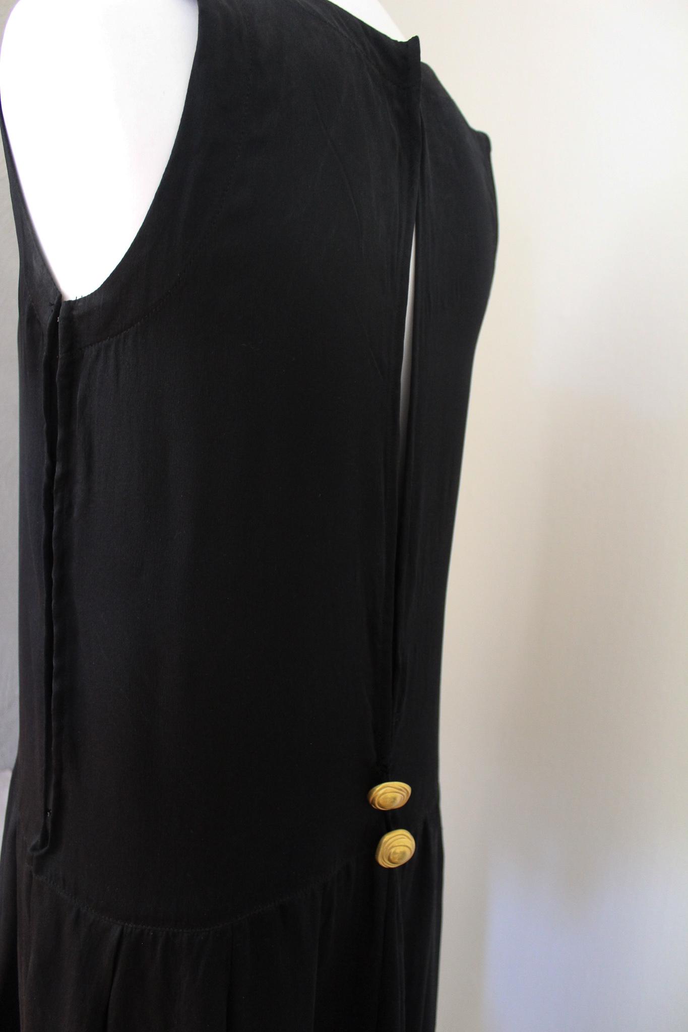 0859fca8 Vintage silkekjole m/detalj –